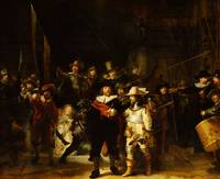 Rembrandt Van Rijn Night Watch Baroque Art