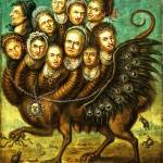 """""""Chimera Winged Creature Early 18th Century Monster"""" by masterpiecesofart"""