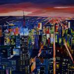 """Empire State Building New York City Night"" by arthop77"