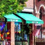 """Bristol, RI Toy Shop"" by susansartgallery"