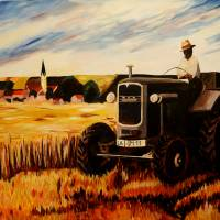 The Farmer Art Prints & Posters by M Bleichner