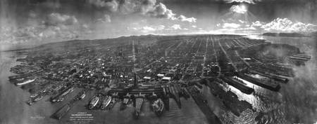 Vintage San Francisco Panoramic Photograph (1902)
