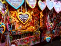 Munich Octoberfest Gingerbread Hearts II
