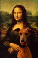 Mona Lisa with Dog