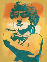 David - Michelangelo - Stylised Modern Pop Art Pos