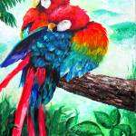 """Scarlet Macaw"" by galina"