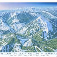 Yellowstone Mountain Club Art Prints & Posters by James Niehues