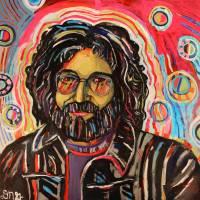 Jerry Garcia #3 Art Prints & Posters by David Noah Giles