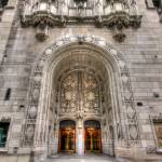 """Chicago Tribune Entrance"" by johndecember"