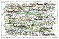 All The Presidents Signatures Green