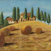 Tuscan sunshine Art Prints & Posters by Fernando Barozza