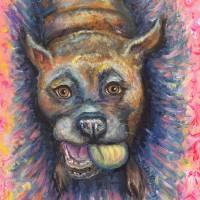 Bulldog Buddy Art Prints & Posters by Nadine Rippelmeyer