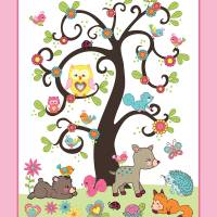 Happy Forest Friends Art Prints & Posters by Cheryl Marie