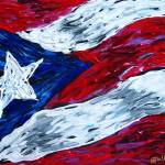 """Puerto Rican Flag"" by galina"