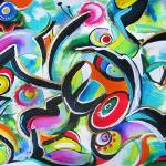 """Abstract Etude 11-11-11"" by galina"