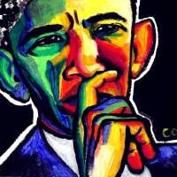 Mr. President Art Prints & Posters by Christina O. Birch