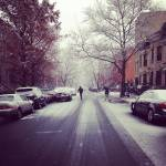 """Snowy Decatur Street"" by kennethjansson"