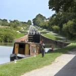 """Caen Hill Locks Kennet & Avon Canal 3"" by jimhellier"