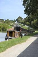 Caen Hill Locks Kennet & Avon Canal 3