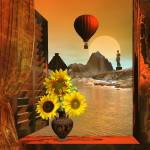 """Italian Sunflowers"" by AnneVis"