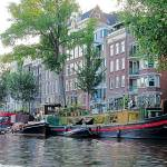 """Houseboats on Canal DSC_0214 (3)_e"" by AndreHugosPlace"