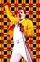 Freddie Mercury - Queen - Pop Art