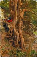 Lord Leighton - Trees at Cliveden, Frederic