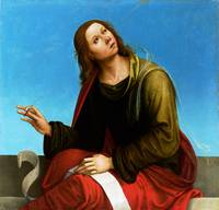 Lorenzo Costa - Saint John the Evangelist