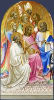 Lorenzo Monaco - Adoring Saints - Left Main Tier P