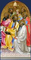 Lorenzo Monaco - Adoring Saints - Right Main Tier