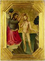Lorenzo Monaco - The Baptism of Christ