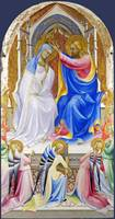 Lorenzo Monaco - The Coronation of the Virgin