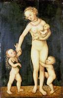 Lucas Cranach the Elder - Charity