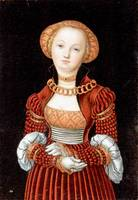 Lucas Cranach the Elder - Portrait of a Woman