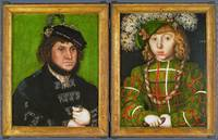 Lucas Cranach the Elder - Diptych - Two Electors o