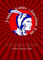 Let Us celebrate together Native American Pride Po
