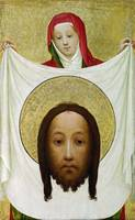 Master of Saint Veronica - Saint Veronica with the