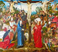 Master of the Aachen Altarpiece - The Crucifixion