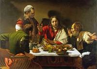 Michelangelo Merisi da Caravaggio - The Supper at