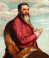 Moretto da Brescia - Praying Man with a Long Beard
