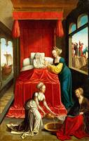 Netherlandish - The Birth of the Virgin