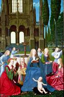 Netherlandish - The Virgin and Child with Saints a