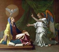 Nicolas Poussin - The Annunciation