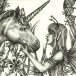 """Fairy and Unicorn"" by TASillustrations"