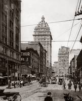 View up 3rd from Mission to Market, San Francisco  by WorldWide Archive