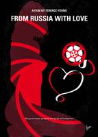 No277-007 My from Russia with love minimal movie p