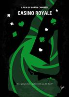 No277-007-2 My Casino Royale minimal movie poster
