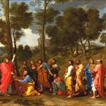 """Nicolas Poussin - Ordination"" by ArtLoversOnline"