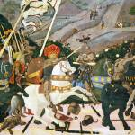 """Paolo Uccello - The Battle of San Romano"" by ArtLoversOnline"