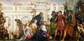 Paolo Veronese - The Family of Darius before Alexa